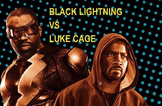 Black Lightning Vs Luke Cage